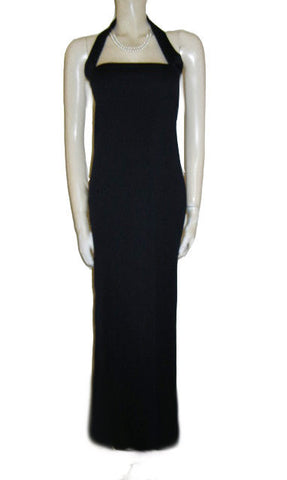 BEAUTIFUL NEW YORK & CO. HALTER DRESS IN MIDNIGHT NAVY