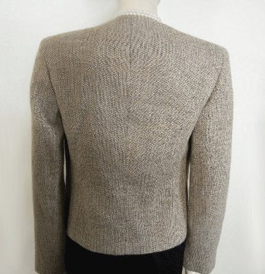 GIORGIO ARMANI LE COLLEZIONI BEAUTIFULLY CUT JACKET MADE IN ITALY - LIKE NEW