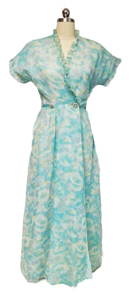 VINTAGE CAMPUS GIRL MONET WATER LILIES COLORS WITH RHINESTONE ...