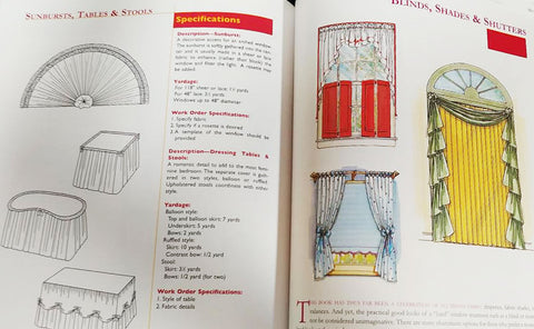 NEW - THE ENCYCLOPEDIA OF WINDOW FASHIONS BOOK - PERFECT FOR THE INTERIOR DESIGNER IN YOU!