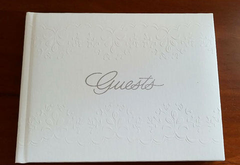 NEW CR GIBSON TROUSSEAU GUEST BOOK FOR ENGAGEMENT, WEDDING, RETIREMENT PARTY, ANNIVERSARY, FUNERAL, PARTY, QUINCEANERA