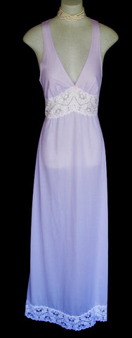 RARE GORGEOUS VINTAGE EMILIO PUCCI HYACINTH PEIGNOIR &  NIGHTGOWN SET FOR FORMFIT ROGERS