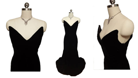 Vintage EVENING GOWNS - FORMAL WEAR – Vintage Clothing & Fashions ...