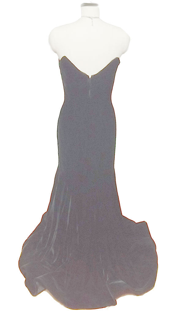 SPECTACULAR VINTAGE VICTOR COSTA FROM SAKS FIFTH AVENUE BLACK VELVET ...