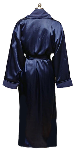 LUSCIOUS VICTORIA'S SECRET ROBE DRESSING GOWN IN A LUSCIOUS SHADE OF NIGHTFALL