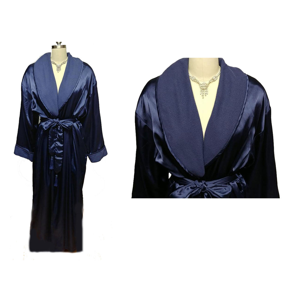 Sold Luscious Victoria S Secret Robe Dressing Gown In A Luscious Sha Vintage Clothing Fashions Midnight Glamour
