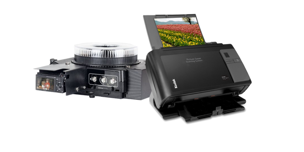 Rapid Automated Slide Scanner and Kodak Picture Saver Scanner Rentals by E-Z Photo