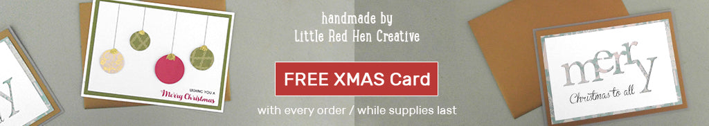 Free Christmas Card with Every Purchase! (While Supplies Last)