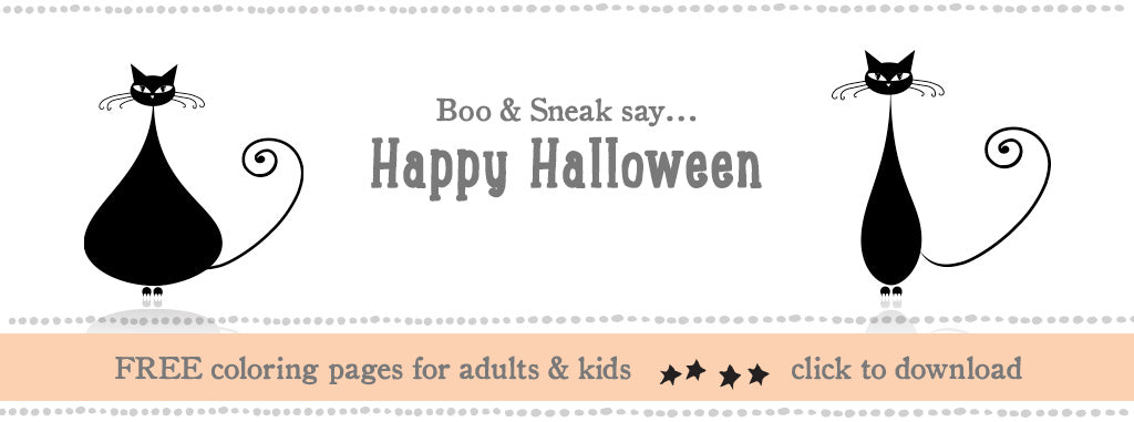 Click here to download FREE Halloween Coloring Pages