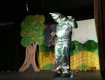 Tin Man from Little Red Hen's NYGVT Production of Wizard of Oz 2015