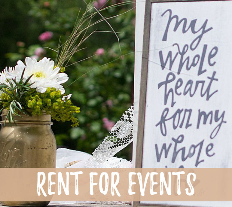 Rent for Events
