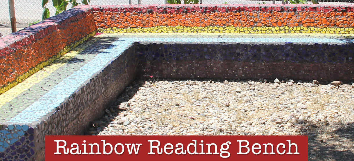 Rainbow Reading Bench Gallery