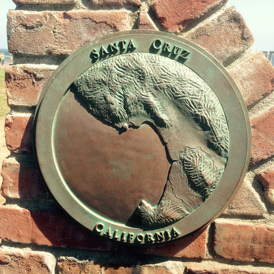 Santa Cruz Plaque