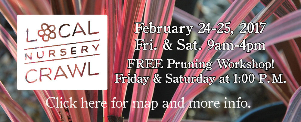 Click here for more info on the Local Nursery Crawl 2017