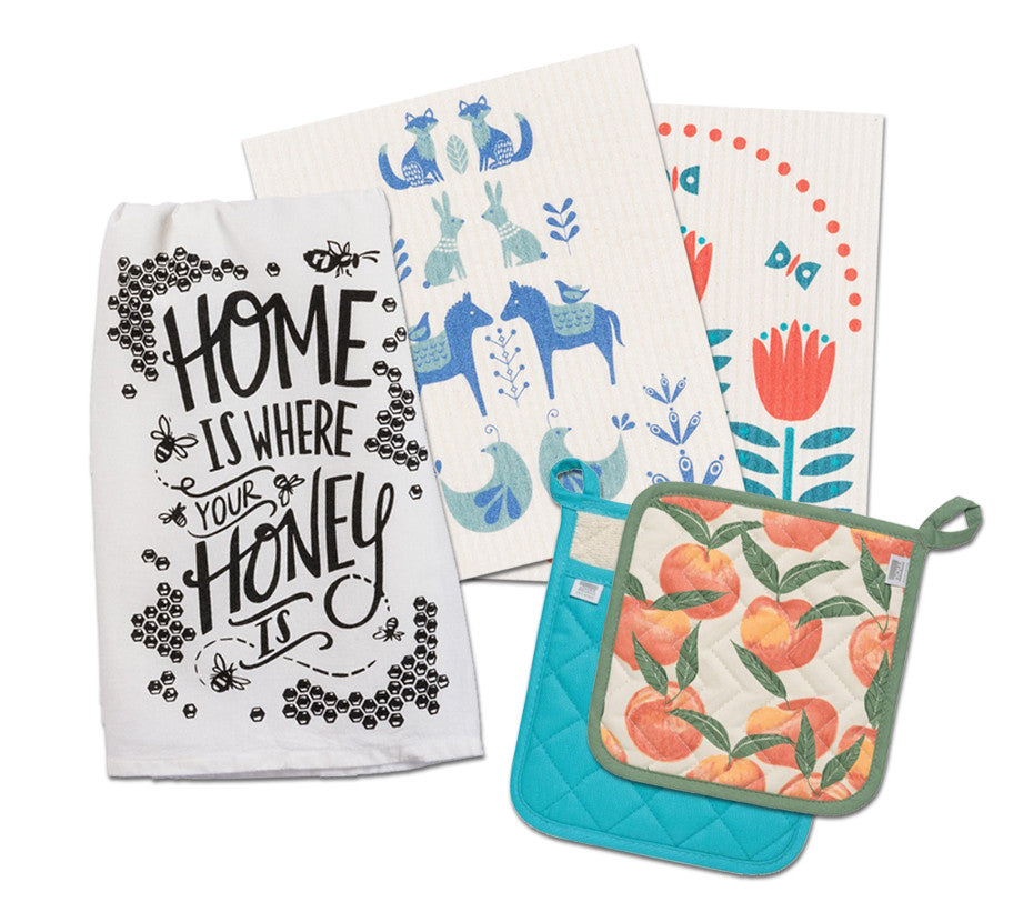 Towels, Aprons, and Dishcloths