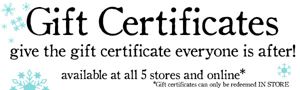 Gift Certificate from Little Red Hen