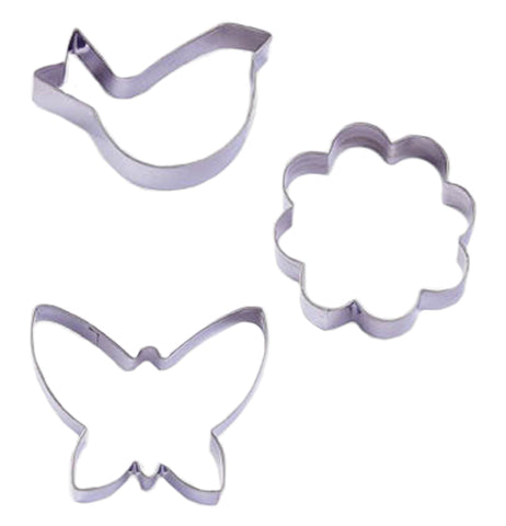 "Cookie Cutters (Set of 3) ""Garden"""