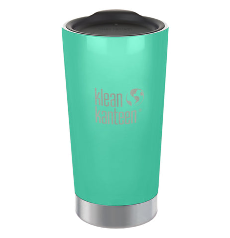The teal green steel cup is shown individually.