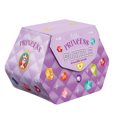 Carrying case for a 48 piece little princess puzzle.