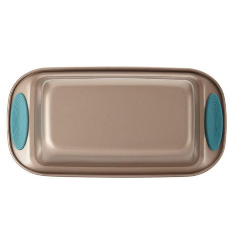 "The 9x5 ""Blue"" Loaf Pan is shown from above."