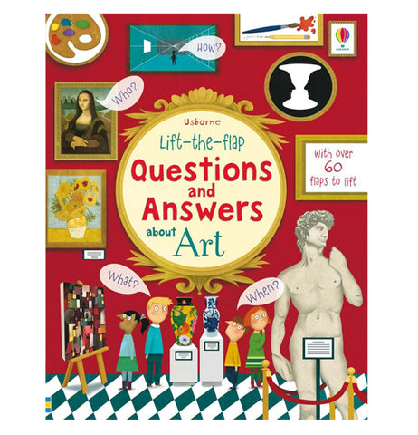 """Lift-the-Flap Questions and Answers about Art"""
