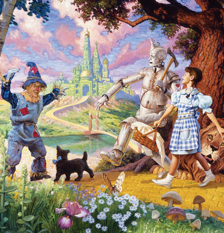 "Puzzle, (350 Piece) ""The Wizard of Oz"" (Family)"