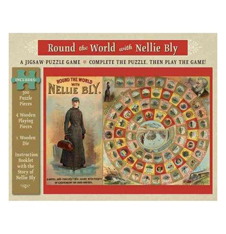 "Puzzle (300 Piece) ""Round the World with Nellie Bly"""