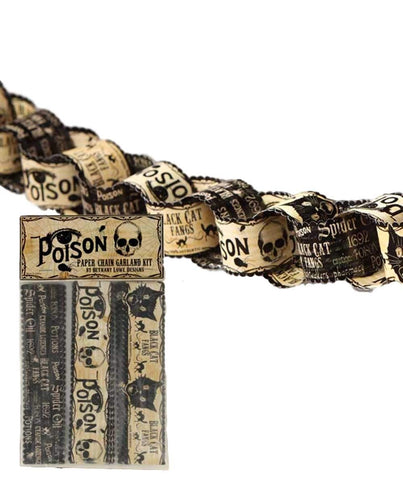 Poison Paper Chain Garland Kit