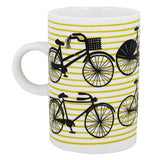 The Bicicletta Mug has more bicycles on the other half.