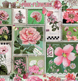 "Puzzle, ""Pink Flowers"""