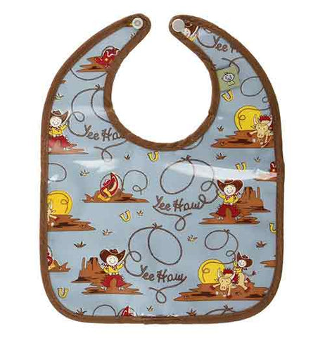 "Baby Bibs (Set of 2) ""Yee Haw"""