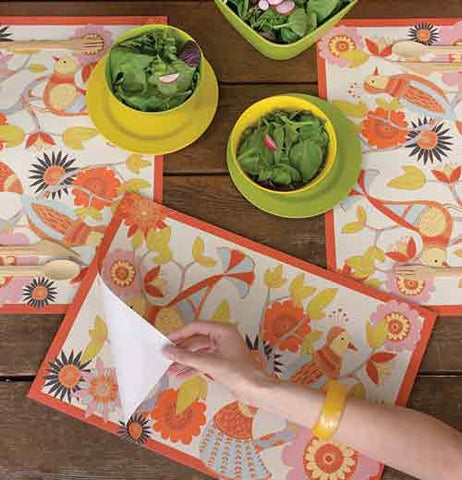 "Placemats (Set of 4) ""Botanica"""