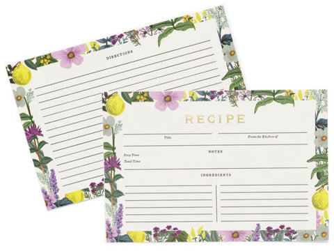 Recipe Card - Herb Garden Pack of 12