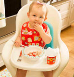 "Baby Bibs (Set of 2) ""Birds & Butterflies"""