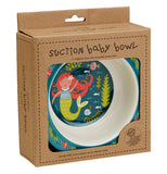 The Suction Baby Bowl with Isla the Mermaid is packaged in a box.