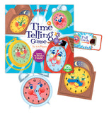 "The ""Time Telling"" Educational Game has score pad, time card, and clock mats taken out."