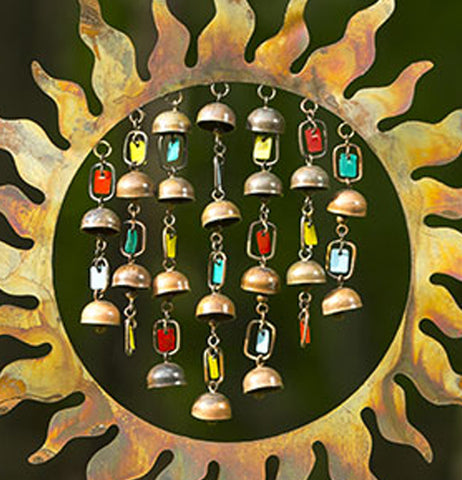 "Wind Chime ""Sun with Dangles"""