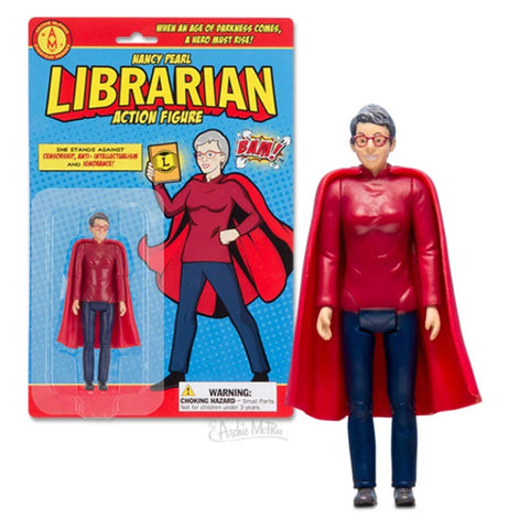 "Action Figure ""Librarian"""