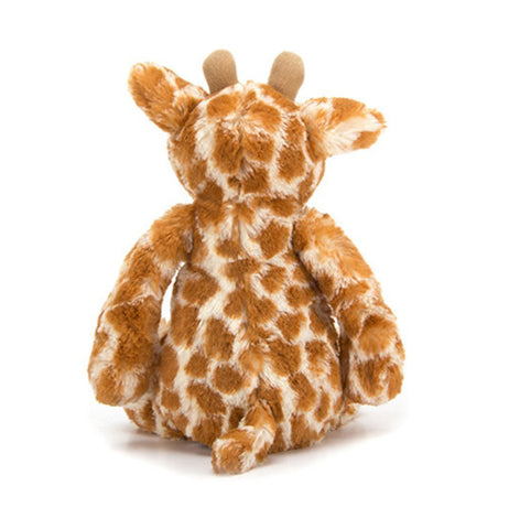 Orange and cream Giraffe back view