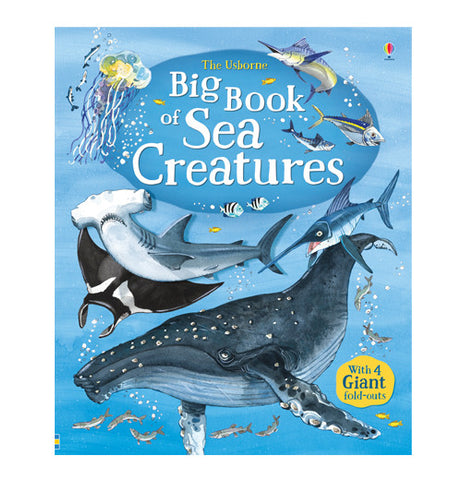Big blue book of under the sea water creatures.