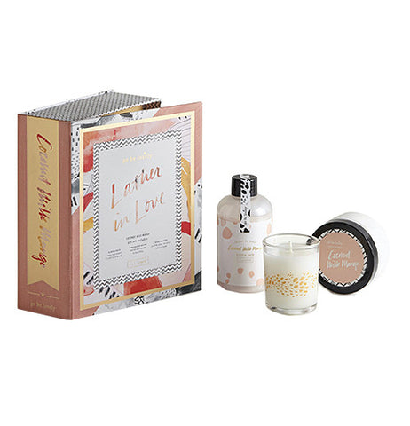 Gift Set of beauty products with Coconut Milk Mango scent