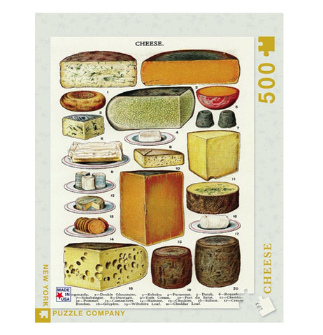 Cheese 500 Piece Puzzle
