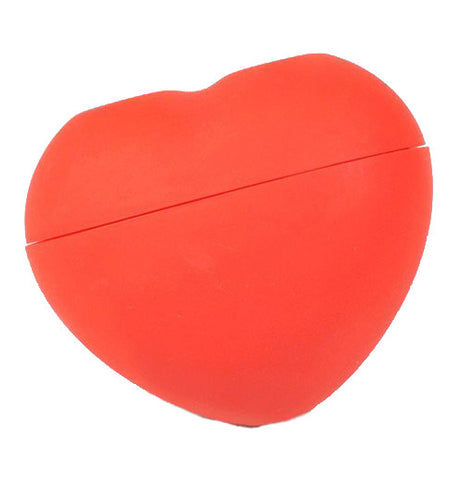 Red Heart-shaped Ice Mold