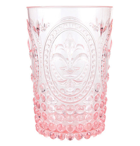 Pink country acrylic tumbler with cool designs.