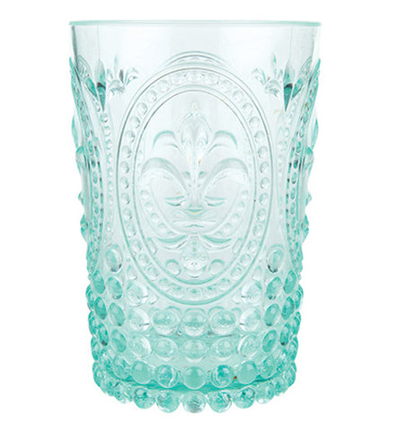 Green country acrylic tumbler with cool designs.