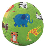"The same ""Jungle Animals"" Playground Ball except it's a bit larger."