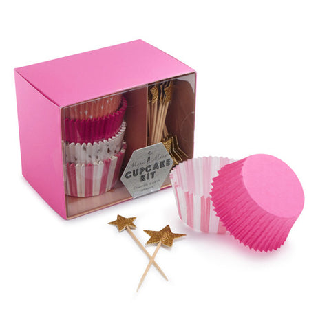 Cupcake kit stars for your colorful cupcake cups.