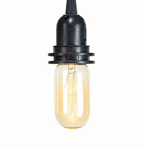 The vintage style bulb is short and durable for your lighting experience.