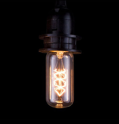 This  awesome looking bulb is great and bright for your vintage style blub.