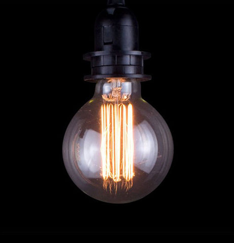This antique round Edison bulb is great for your lighting pleasures.